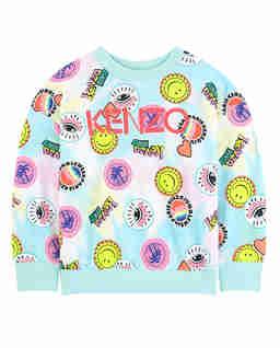 Bluza z kolorowymi nadrukami 0-4 lat