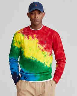 Kolorowa bluza Terry