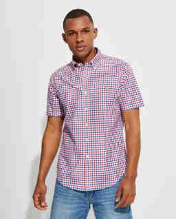 Koszula z krótkim rękawem Custom Fit