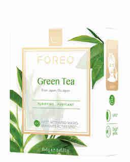 Oczyszczająca maseczka do skóry mieszanej Green Tea 6 sztuk