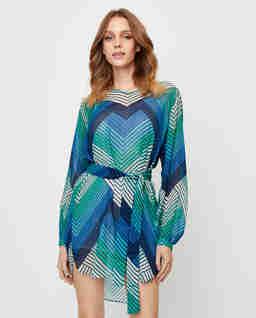 Asymetryczna sukienka mini