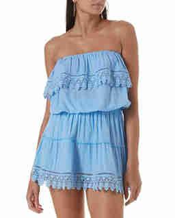 Niebieska sukienka mini Joy