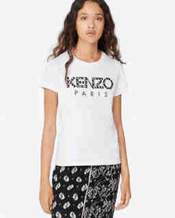 Bílé tričko s logem