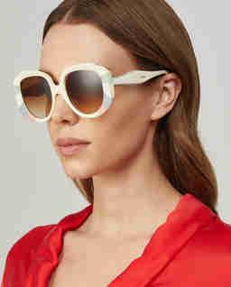 Pastelowe okulary przeciwsłoneczne Venus