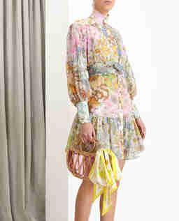 Kolorowa sukienka w kwiaty Super Eight