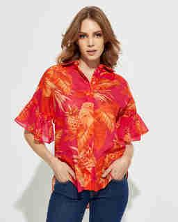 Koszula w hawajskim stylu