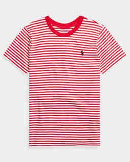 Koszulka z krótkim rękawem w paski