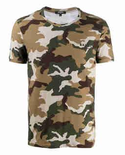 Koszulka we wzór moro