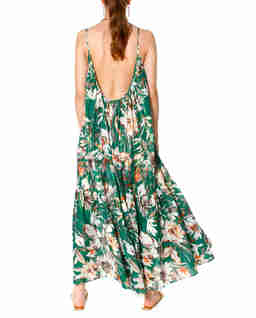 Luźna sukienka w kwiaty Lea Summer