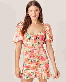 Sukienka w kwiatowy wzór Versilla