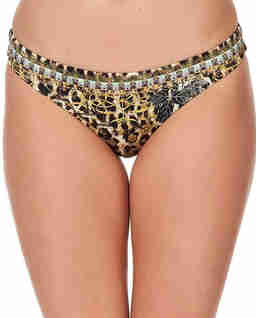 Dół od bikini z kryształami