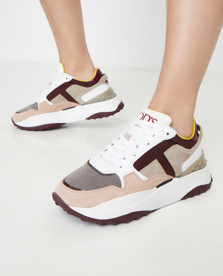 Kolorowe sneakersy z monogramem Tod's
