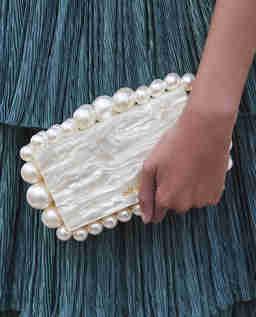 Perłowa torebka Eos