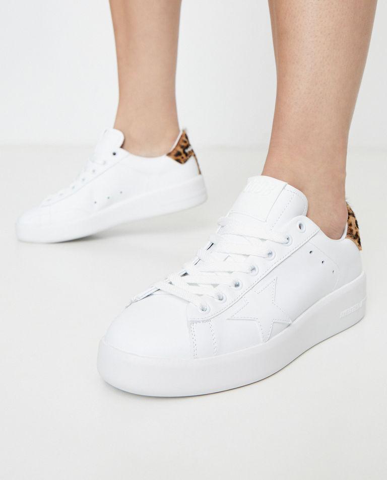 Białe sneakersy Pure Star Golden Goose