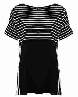 Czarno-biała bluzka