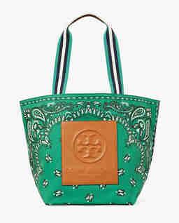 Zielona torba z nadrukiem Gracie