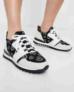 Sneakersy z logowaniem