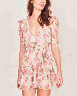 Sukienka w róże Arlo
