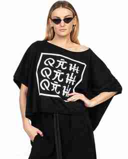 Czarny t-shirt ORIENT KAMON
