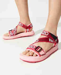 Różowe sandały Papaya