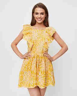 Żółta sukienka Rosa