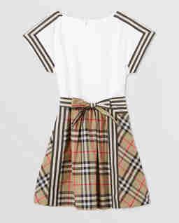 Bawełniana sukienka w kratkę 3-12 lat