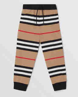 Spodnie dresowe w paski 3-14 lat