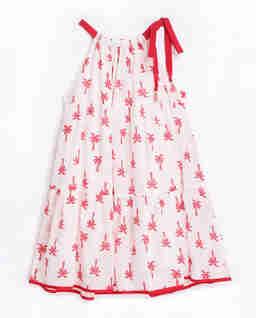 Sukienka w palmy Juliette Halter 2-8 lat