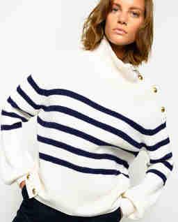 Marynarski sweter Tuvalo