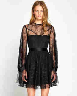 Czarna sukienka Craft