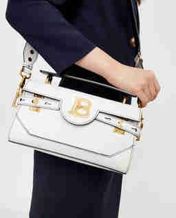 Biała torebka B-Buzz 26 baguette