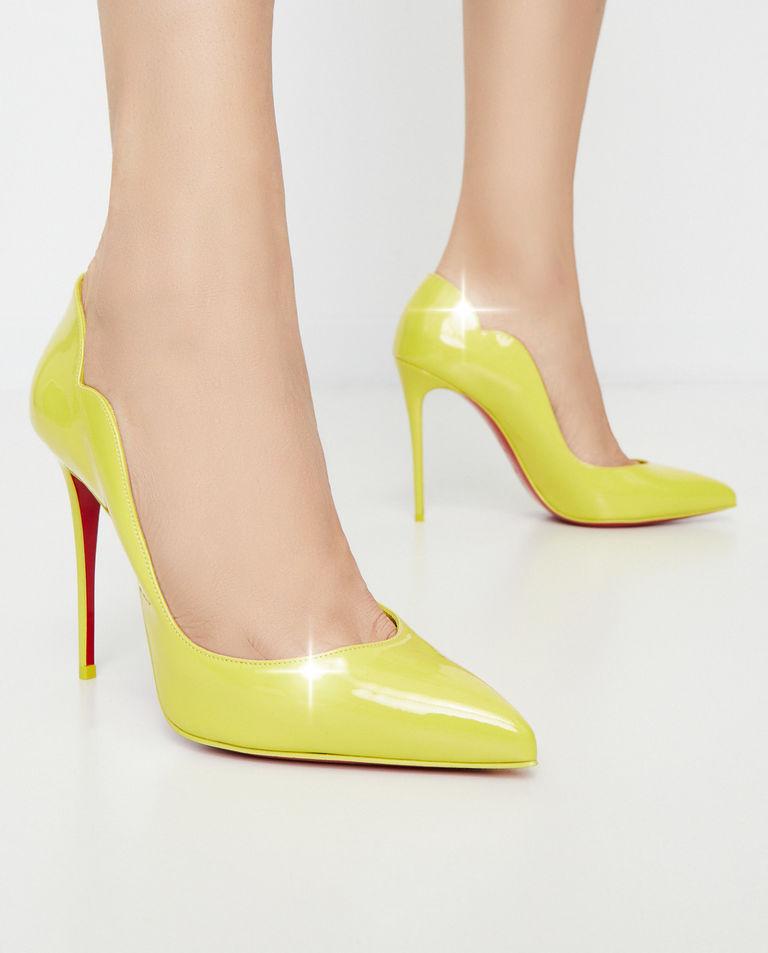 Żółte szpilki Hot Chick Christian Louboutin