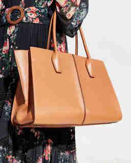 Brązowa torba shopper Medium