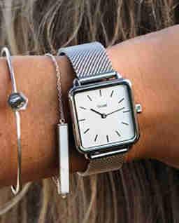 Zegarek La Garconne Silver White/Silver