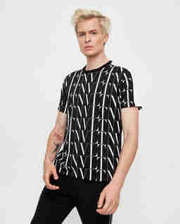 Czarna koszulka VLTN Times