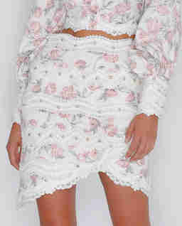 Asymetryczna spódnica Allure
