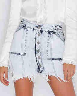 Spódnica jeansowa Entitle