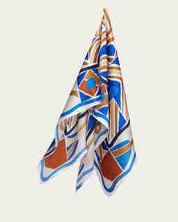 Niebieska apaszka MESHI NO.3