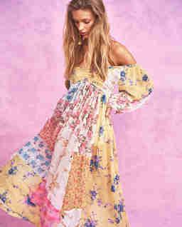 Sukienka w kwiaty Roslyn