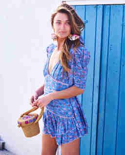 Niebieska sukienka Arlo