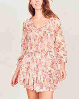 Sukienka z jedwabiu Popover