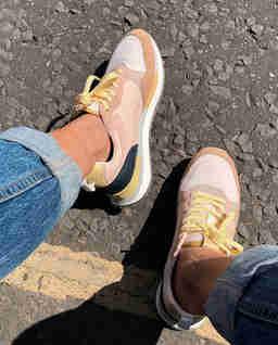 Zamszowe sneakersy Florence