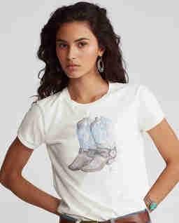 Bawełniana koszula z grafiką