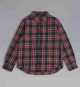 Bawełniana koszula w kratę 8-16 lat