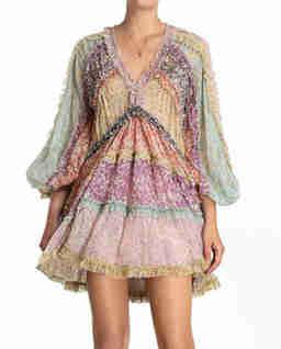 Sukienka z falbankami Carnaby