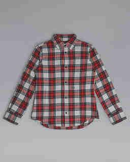 Flanelowa koszula w kratę 8-16 lat