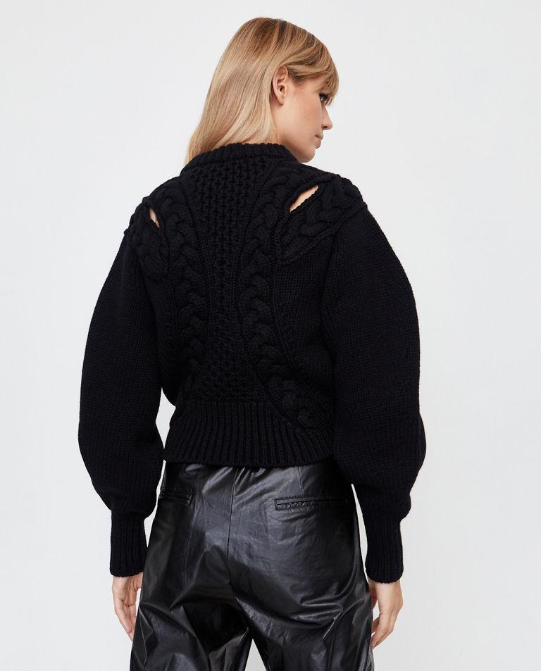 Pleciony sweter z wełny Alexander McQueen