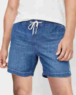 Niebieskie szorty z jeansu Prepster