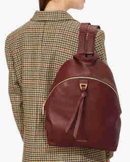 Bordowy plecak Joy