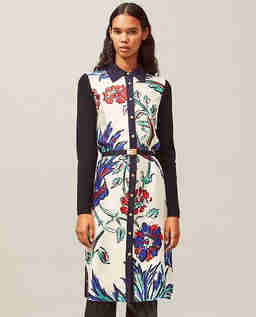 Sukienka z kolorowym nadrukiem